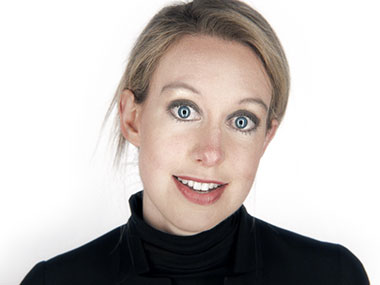 Elizabeth Holmes. Pic courtesy: Theranos website