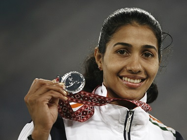 Anju Bobby George. Reuters