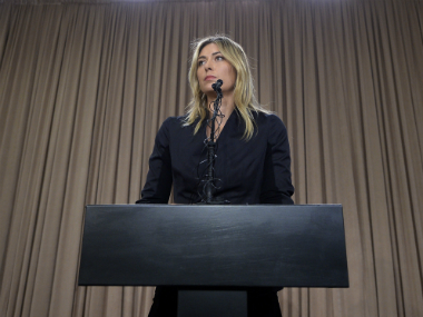 Maria Sharapova admitted in March that she had been tested positive for meldonium. Getty