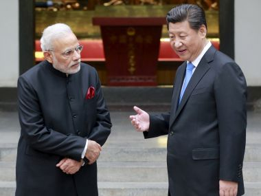 Chinese President Xi Jinping and Indian Prime Minister Narendra Modi. Reuters