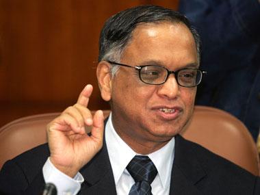NR Narayana Murthy. Reuters