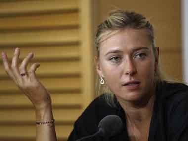 File photo of Maria Sharapova. AP