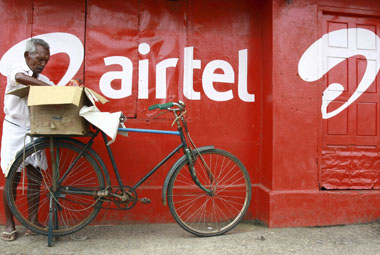 Airtel too failed to meet the 2 per cent call drop benchmark for its 3G network. Reuters