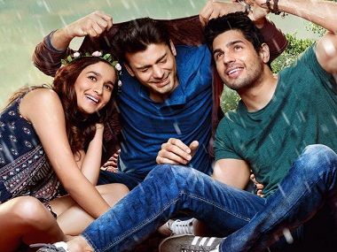 Alia Bhatt, Fawad Khan and Sidharth Malhotra in 'Kapoor & Sons'