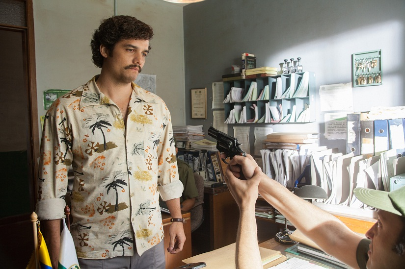 "WAGNER MOURA stars in NARCOS. NARCOS S01E03 ""The Men of Always"""