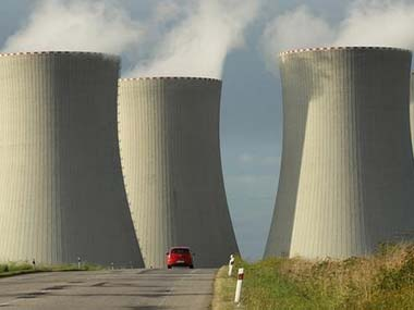 Representational image of nuclear power plant. Getty images
