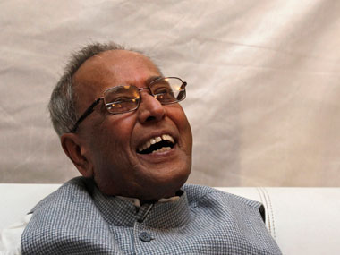 A file photo of President Pranab Mukherjee. Reuters
