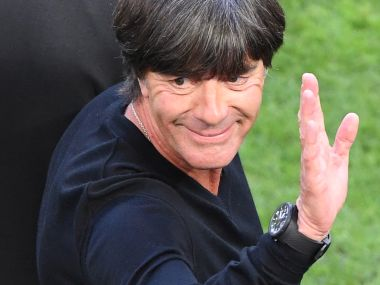 Germany's coach Joachim Loew duting the Euro 2016 quarter-final match against Italy. AFP