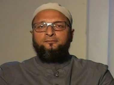 A file photo of Asaduddin Owaisi. IBNLive