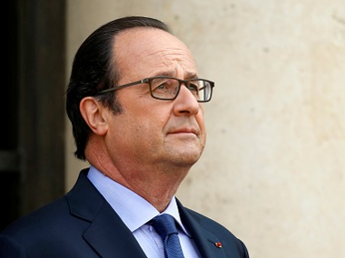 French President Francois Hollande. Reuters