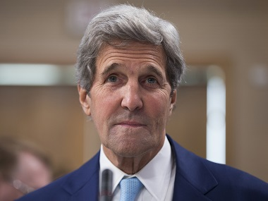 US Secretary of State John Kerry. File photo. AP