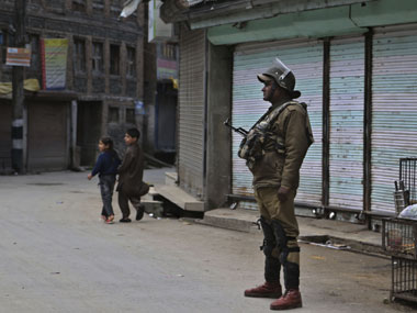 Curfew has been in place in Kashmir since 10 days. Representational image. AFP