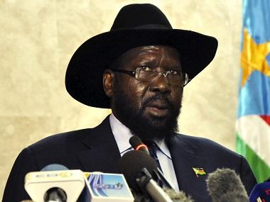 South Sudan's President Salva Kiir. Reuters