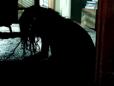 A still from 'Lights Out'