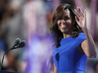 First Lady Michelle Obama. AP