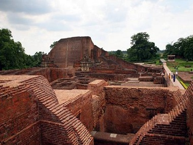 The ruins at Nalanda. AP.