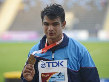 Neeraj Chopra. Getty
