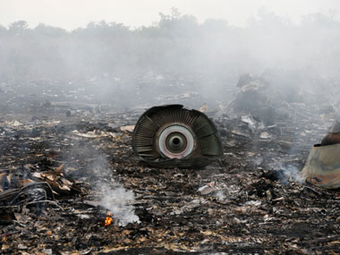 The flight was shot down on 17 July, 2014. Reuters