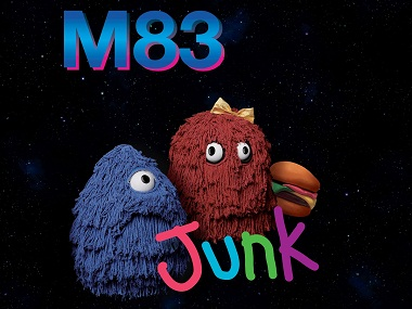 The album art for M83's 'Junk'