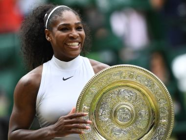 Serena Williams. AFP