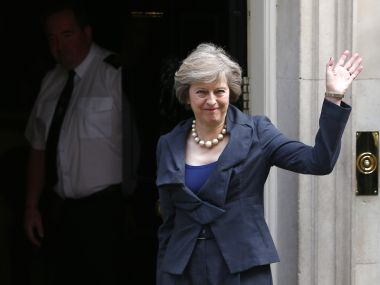 UK Prime Minister Theresa May. File photo. Reuters