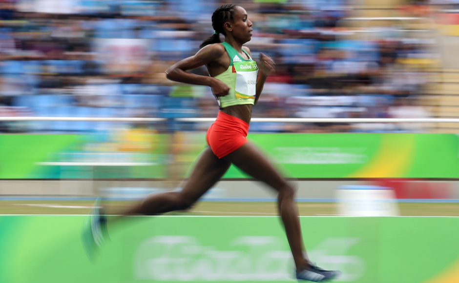 Ethiopia's Almaz Ayana started the athletics segment of the Rio 2016 Olympics by smashing the women's 10,000 metre world record. Reuters