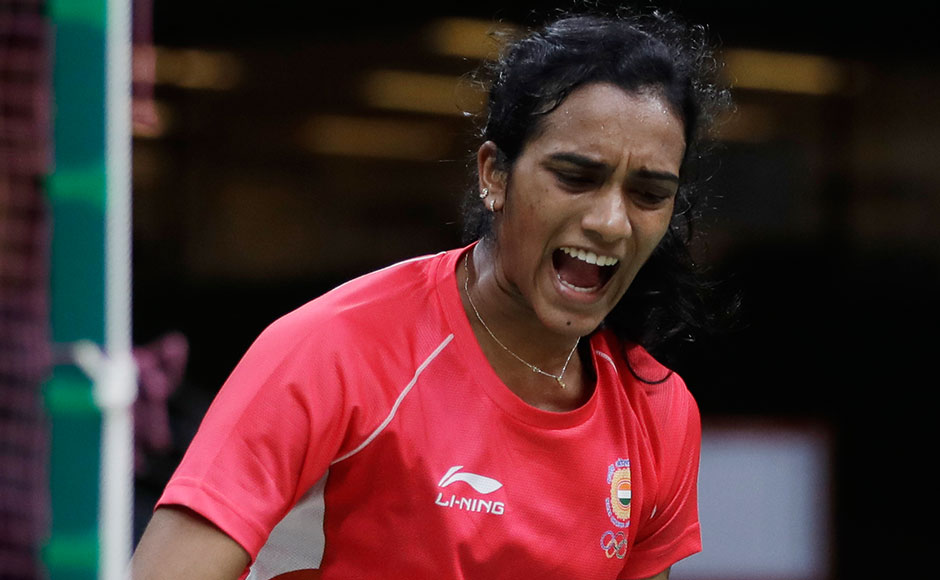 India's PV Sindhu advanced to the quarterfinals of the women's singles, after notching up a dominating straight-game win over Chinese Taipei's Tai Tzu Ying. AP