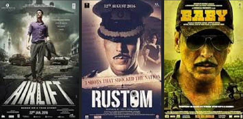 'Rustom' is the latest in a long line of 'man-in-uniform' roles for Akshay Kumar