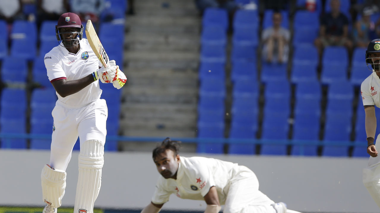 India vs West Indies: Skipper Jason Holder lauds rookie Roston Chase's match-saving ton