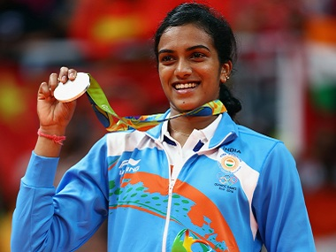 PV Sindhu became the first Indian female to win the silver medal at the Olympics. Getty