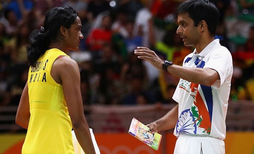 Pulella Gopichand has now trained two Olympic medal winners. Getty Images