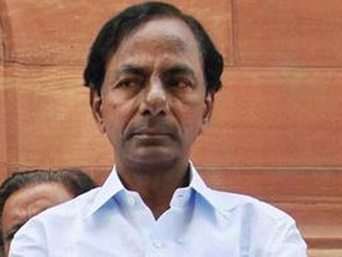 File image of K Chandrasekhar Rao. PTI