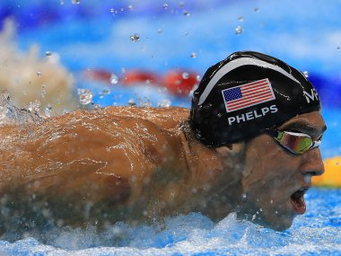 Michael Phelps is the most decorated Olympian ever with 26 medals. Getty