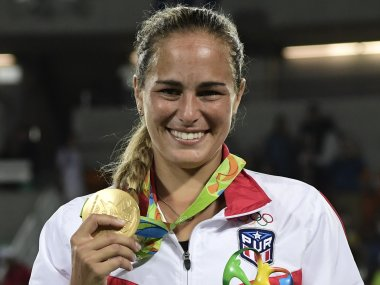 Monica puig defeats angelique kerber in rio 2016 to win puerto rico s