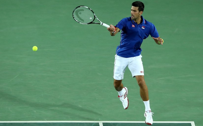 Novak Djokovic will be aiming to put the defeats of Wimbledon and Rio Olympics behind him at the US Open. Getty