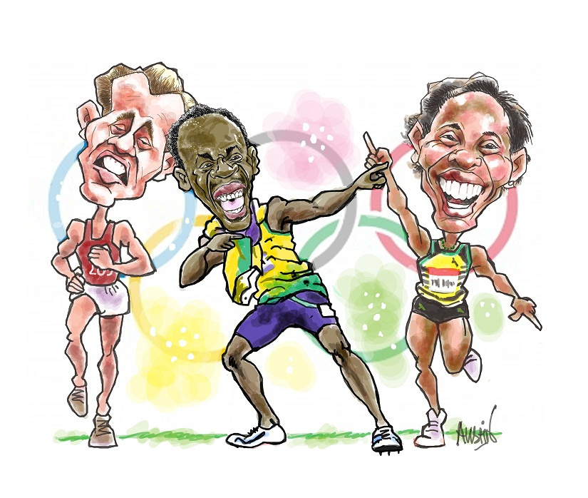 The Olympic 'Games' aren't just about sporting excellence; they can sometimes also be about having fun! Illustration © Austin Coutinho