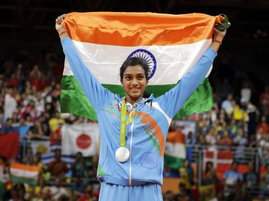 PV Sindhu is proud of her achievement and her efforst at Rio Olympics 2016. AP