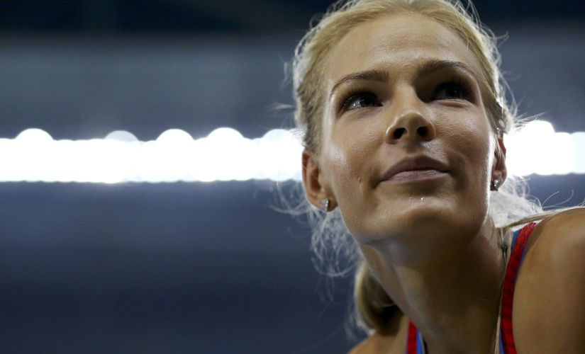 Darya Klishina of Russia. Reuters