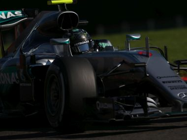 Nico Rosberg finished first in qualifying at the Belgian Grand Prix. Getty