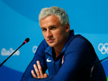 Ryan Lochte had initally reported being mugged at gunpoint at the Rio Olympics. Getty Images