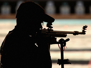 Representational image of 50-metre rifle shooting. Getty Images