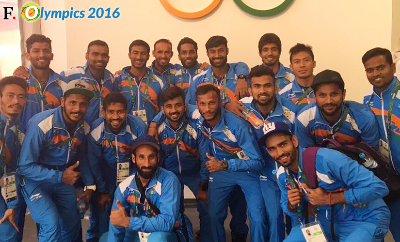 The Indian men's hockey team. Image Credit: Twitter