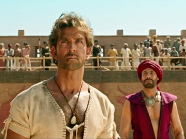 Hrithik Roshan in a still from 'Mohenjo Daro'