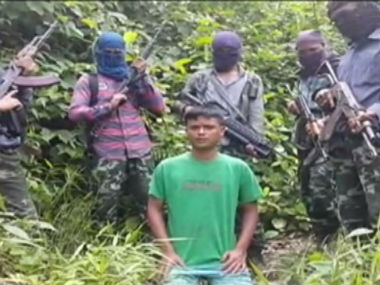 A screengrab from the video released by Ulfa. CNN-News18