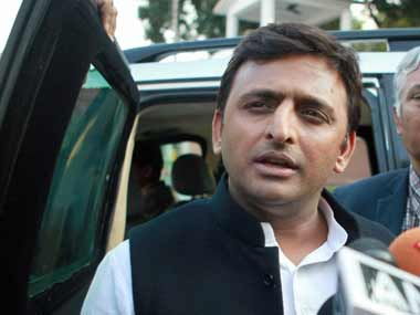 File photo of CM Akhilesh Yadav. PTI