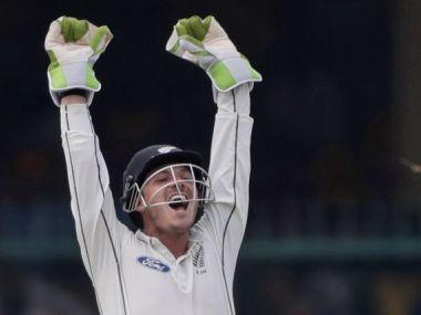 New Zealand wicket-keeper BJ Watling. AP