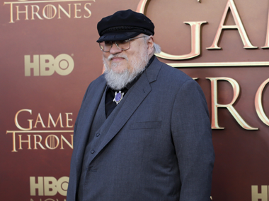 GRR Martin. File photo/Reuters
