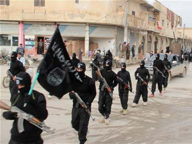 Tim Kaine says ISIS is shrinking in its occupied space. Reuters