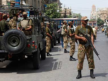 File image of Pakistan soldiers. Reuters