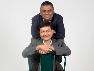 Ambareesh Murty, founder and CEO, Pepperfry; Ashish Shah, co founder and COO